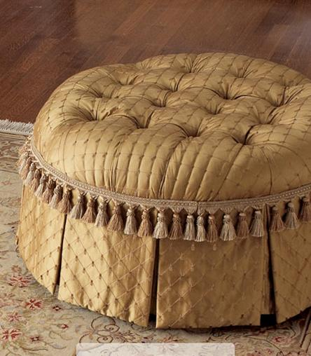 ottoman-with-tassels