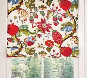 window-roman-shade
