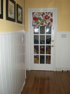 door to porch