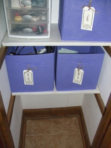 After Bottom of Closet