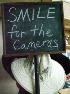 Smile for the Cameras