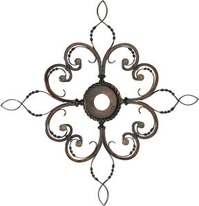 Wrought Iron Medallion