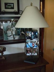 Postcard lamp